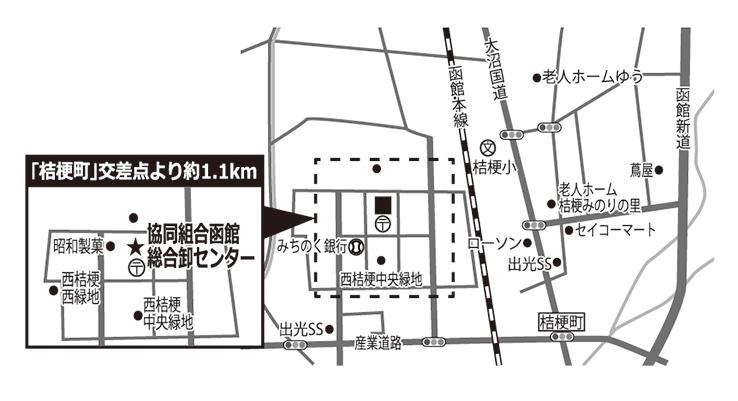 協同組合函館総合卸センター