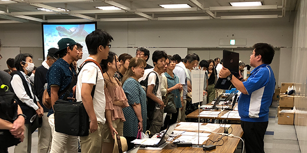 ジェムテクノートパソコン有償譲渡会in大阪_写真